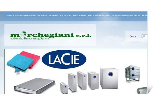 Sito E-commerce Marchegiani