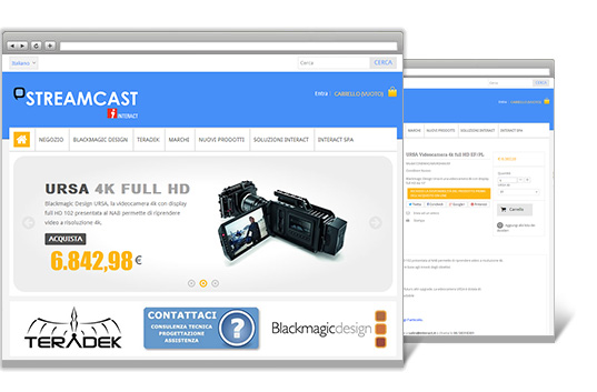 Streamcast restyling