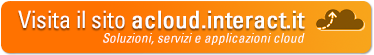 Vai al sito www.acloud.interact.it